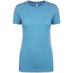 Vêtements Femme T-shirts manches courtes Next Level NX6710 Turquoise chiné