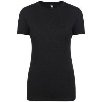 Vêtements Femme T-shirts manches courtes Next Level NX6710 Noir chiné