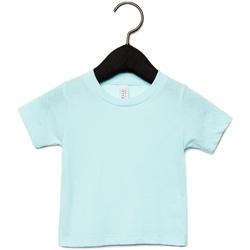 Vêtements Enfant T-shirts manches courtes Canvas CA3413T Bleu pâle