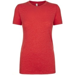 Vêtements Femme T-shirts manches courtes Next Level NX6710 Rouge chiné