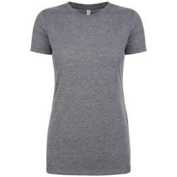 Vêtements Femme T-shirts manches courtes Next Level NX6710 Gris chiné