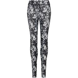 Vêtements Femme Leggings Awdis JC077 Noir/gris/blanc