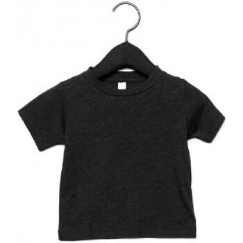 Vêtements Enfant T-shirts manches courtes Canvas CA3413T Noir