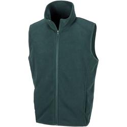 Vêtements Homme Gilets / Cardigans Result R116X Vert foncé