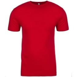 Vêtements T-shirts manches courtes Next Level NX3600 Rouge