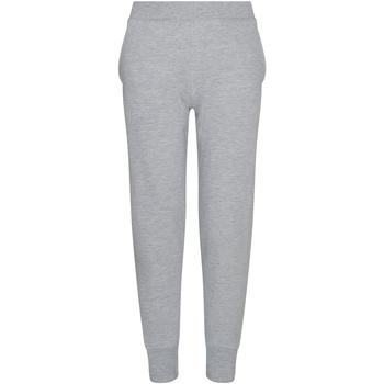 Vêtements Enfant Pantalons de survêtement Awdis JH74J Gris chiné