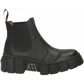 Chaussures Femme Boots New Rock M-WALL007ASA-C1 LUXOR nero