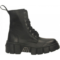 Chaussures Femme Boots New Rock M-WALL026NBASA-C2 LUXOR nero