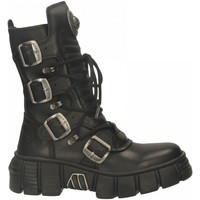 Chaussures Femme Boots New Rock M-WALL028N-C1 CRUST nero