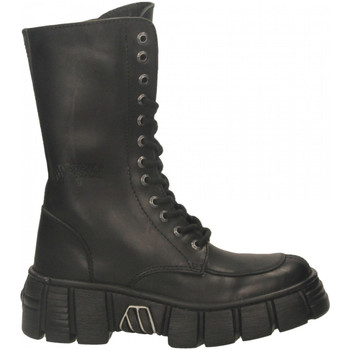 Chaussures Femme Boots New Rock M-WALL029N-C1 ITALI nero
