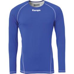 Vêtements Homme T-shirts manches longues Kempa Maillot de compression ML  Attitude bleu roi