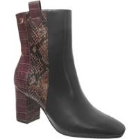 Chaussures Femme Bottines Gioseppo Malchin Noir/Bordeaux