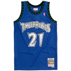 Vêtements Homme Débardeurs / T-shirts sans manche Les Iles Wallis et Futuna Maillot NBA Kevin Garnett Minn Multicolore