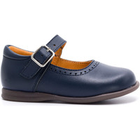 Chaussures Fille Ballerines / babies Boni & Sidonie Babies en cuir à boucle - ORIANE Bleu Marine