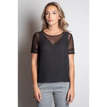 Vêtements Femme T-shirts manches courtes Deeluxe T-Shirt VICKY Black