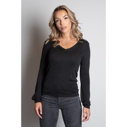 Vêtements Femme Pulls Deeluxe Pull SALLY Black Lurex