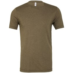 Vêtements T-shirts manches courtes Bella + Canvas CV3413 Vert kaki chiné