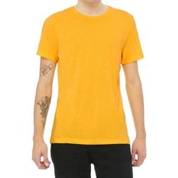 Vêtements T-shirts manches courtes Bella + Canvas CV3413 Jaune chiné
