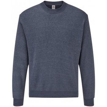 Vêtements Homme Sweats Fruit Of The Loom SS9 Bleu marine chiné