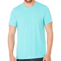 Vêtements T-shirts manches courtes Bella + Canvas CV3413 Turquoise chiné