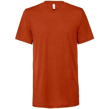 Vêtements T-shirts manches courtes Bella + Canvas CV3413 Orange foncé chiné