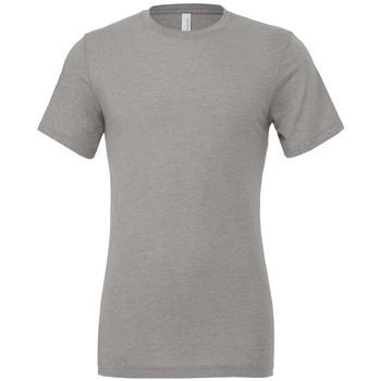 Vêtements T-shirts manches courtes Bella + Canvas CV3413 Gris chiné