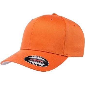 Accessoires textile Casquettes Flexfit YP120 Orange
