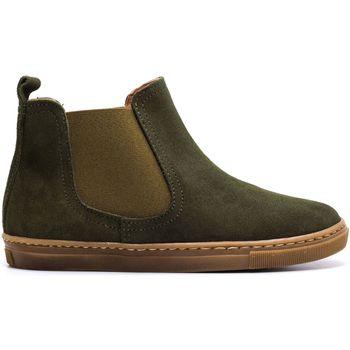 Chaussures Enfant Boots Boni & Sidonie Boots à enfiler en daim - KOLA Daim Vert