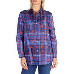 Vêtements Femme Chemises / Chemisiers Tommy Hilfiger - ww0ww20742 Bleu