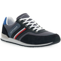 Chaussures Homme Baskets basses Tommy Hilfiger PO7 ICONIC MATERIAL Grigio