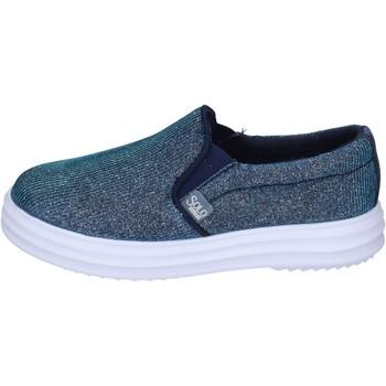Chaussures Fille Slip ons Solo Soprani BK194 Bleu