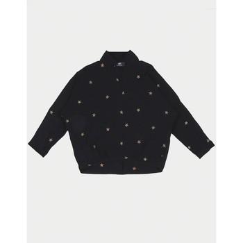 Vêtements Fille Tops / Blouses Little Cerise Top strellagi noir MOCHA