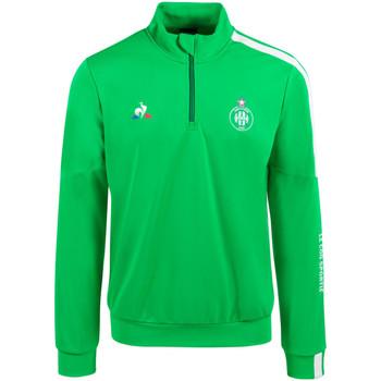 Vêtements Homme Sweats Le Coq Sportif Training Top As Saint Etienne 2020-21 vert