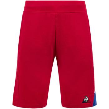 Vêtements Homme Shorts / Bermudas Le Coq Sportif Short Tricolore Regular rouge