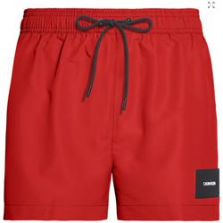 Vêtements Homme Maillots / Shorts de bain Calvin Klein Jeans short drawstring Rouge
