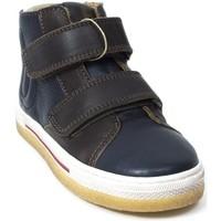 Chaussures Garçon Boots Bisgaard Bottines cuir bleu