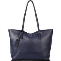 Sacs Femme Cabas / Sacs shopping Milano Sac Cabas A4 Caviar cuir CAVIAR 76D-CA19111N BLUE