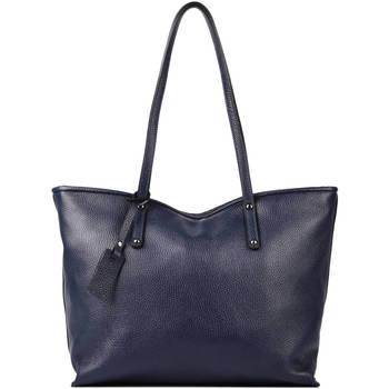 Sacs Femme Sacs porté épaule Milano Sac Cabas A4 Caviar cuir CAVIAR 76D-CA19111N BLUE