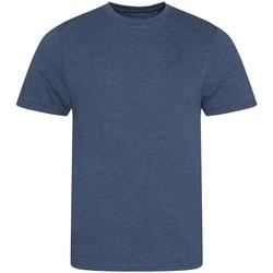 Vêtements Homme T-shirts manches courtes Awdis JT001 Bleu marine chiné