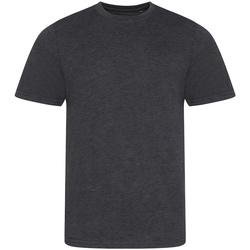 Vêtements Homme T-shirts manches courtes Awdis JT001 Gris foncé chiné