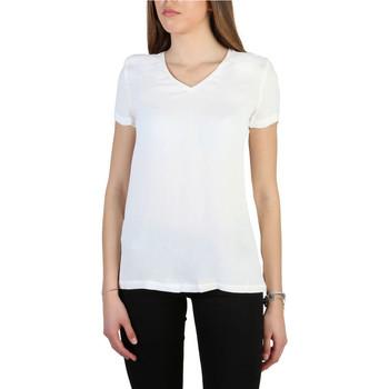 Vêtements Femme T-shirts manches courtes Armani jeans - 3y5h43_5nyfz Blanc