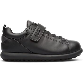 Chaussures Garçon Baskets basses Camper Baskets cuir PELOTAS ARIEL noir