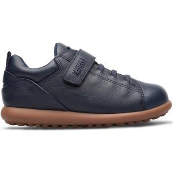 Chaussures Garçon Baskets basses Camper Baskets cuir PELOTAS ARIEL bleu