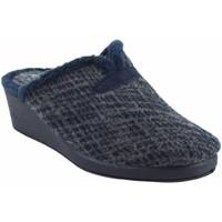 Chaussures Femme Chaussons Garzon maison Mme  175.421 bleu Bleu