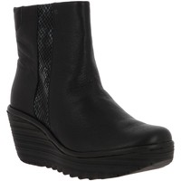 Chaussures Femme Bottines Fly London YULU NOIR