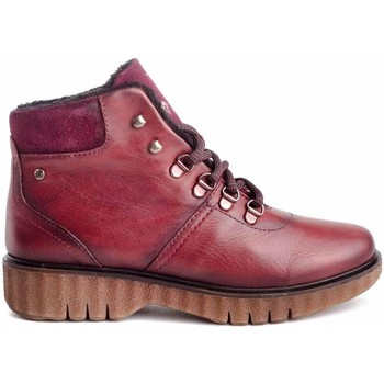 Chaussures Femme Bottines Giorda 24651 Rouge