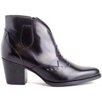 Chaussures Femme Bottines Kissia 377 TACHAS Noir
