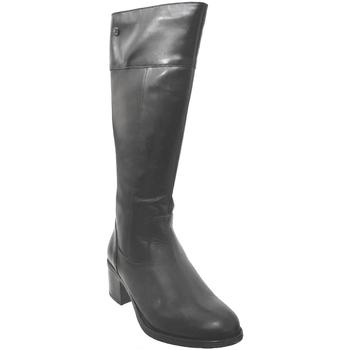 Chaussures Femme Bottes ville Caprice 9-25551-25 Noir cuir