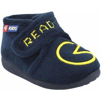 Chaussures Garçon Chaussons Garzon maison garçon  N4155.247 bleu Bleu