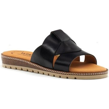 Chaussures Femme Mules Wikers  Negro